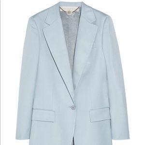 Stella McCartney Blue Woven Blazer